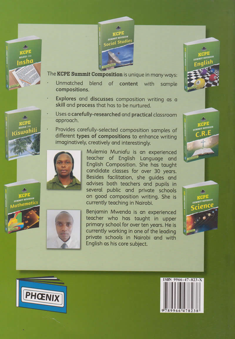 KCPE Summit Revision Composition | Books, Stationery, Computers, Laptops  and more  Buy online and get free delivery on orders above Ksh  2,000  Much