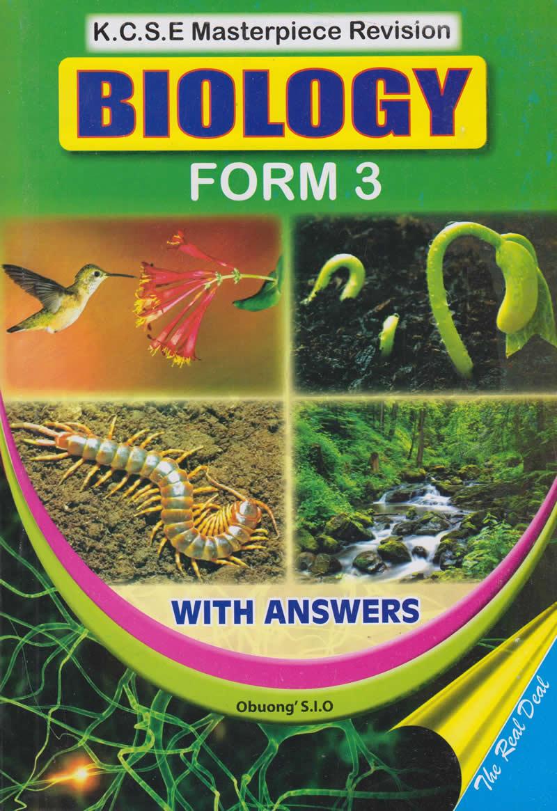 KCSE Masterpiece Biology Form 3   Text Book Centre