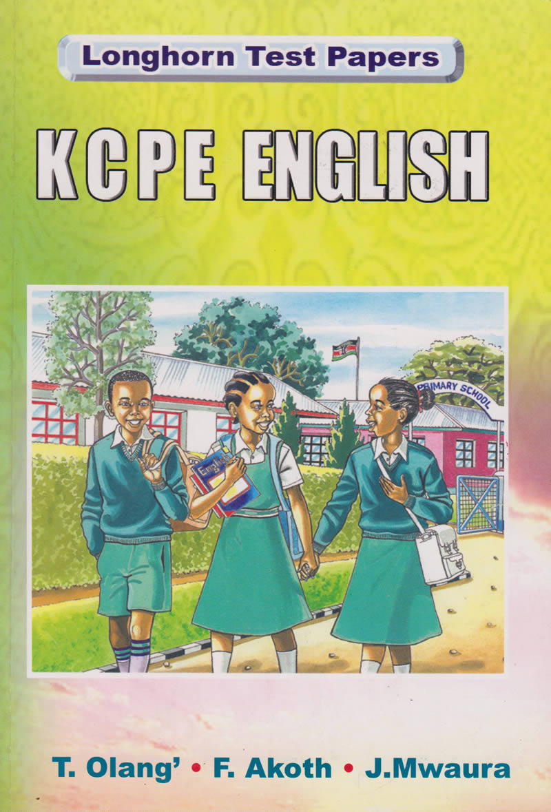 LONG HORN TEST PAPERS KCPE ENGLISH | Books, Stationery, Computers, Laptops  and more  Buy online and get free delivery on orders above Ksh  2,000  Much