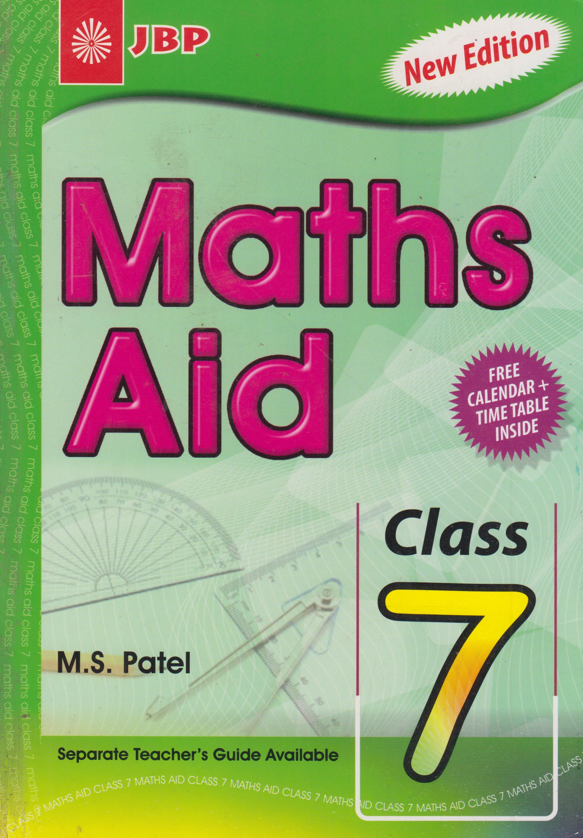 Maths Aid Class 7 | Text Book Centre
