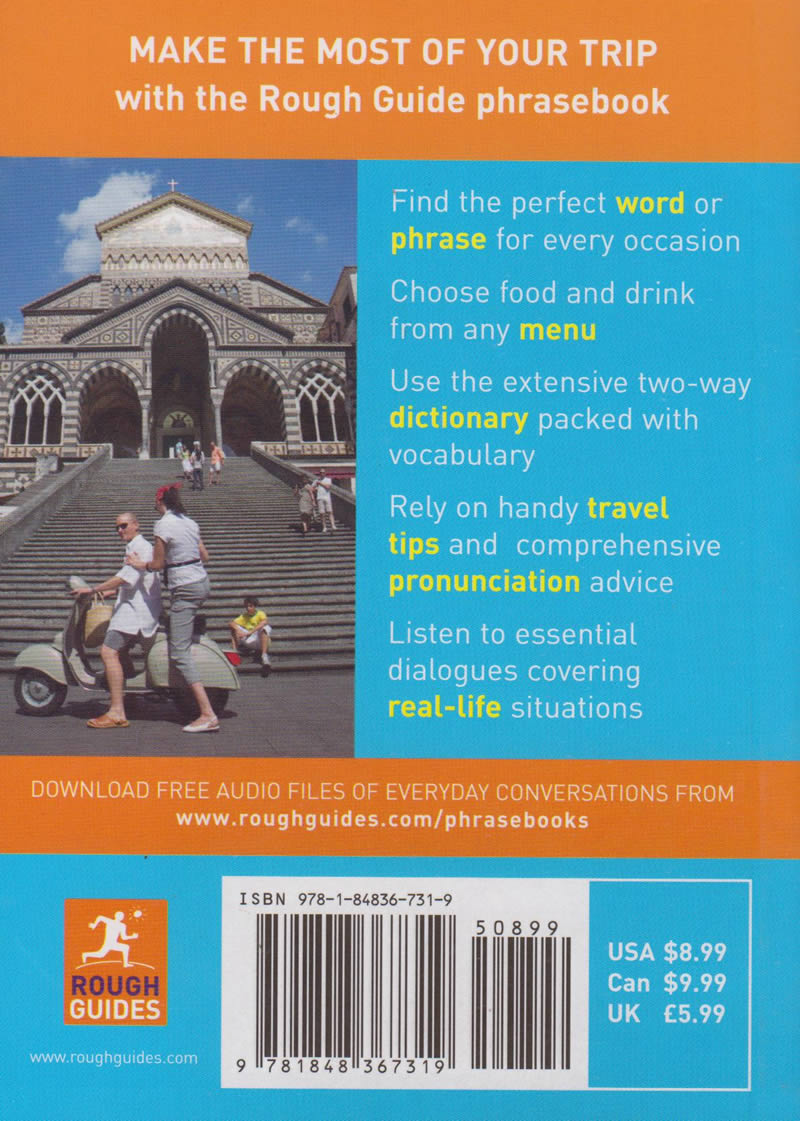Rough Guide Phrasebook Italian   Books, Stationery, Computers, Laptops and  more  Buy online and get free delivery on orders above Ksh  2,000  Much