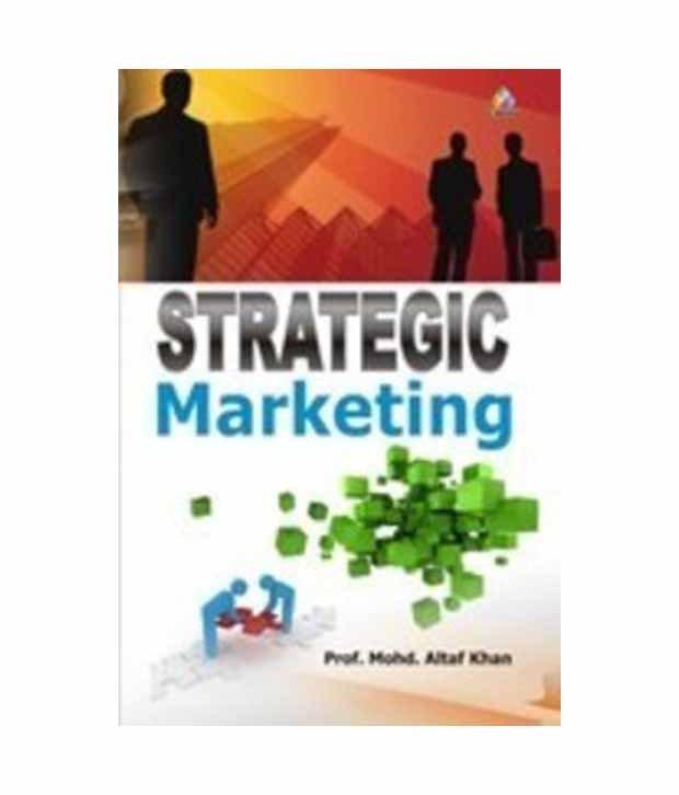 Marketing management book strategic