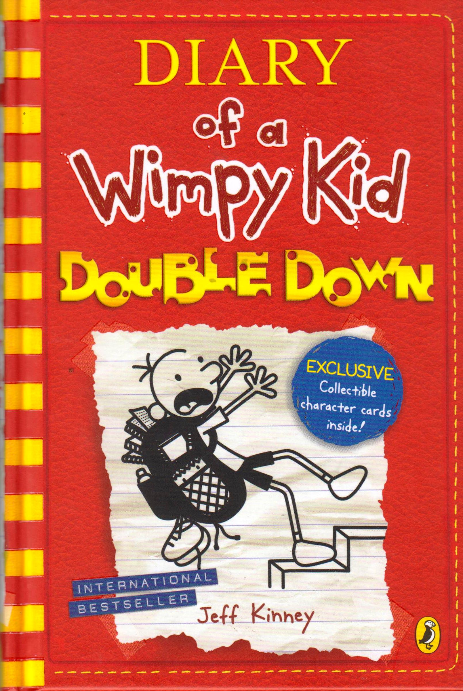 Image result for diary of a wimpy kid double down by jeff kinney